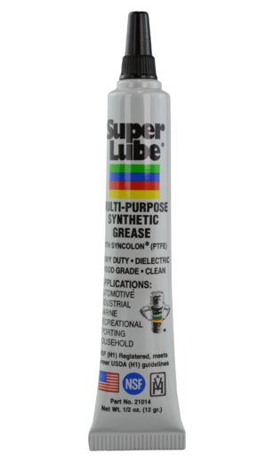 12G SUPER LUBE® MULTI-PURPOSE SYNTHETIC GREASE WITH SYNCOLON® (PTFE)